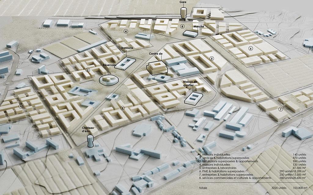 Posad-1110-Quartier-de-la-colline-Maquette-stedenbouwkundig-plan